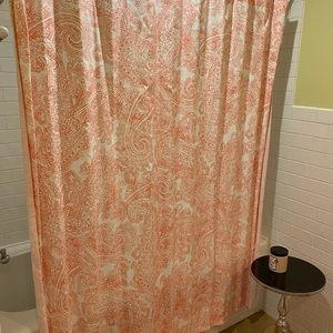 Tommy Hilfiger Cotton Shower Curtain